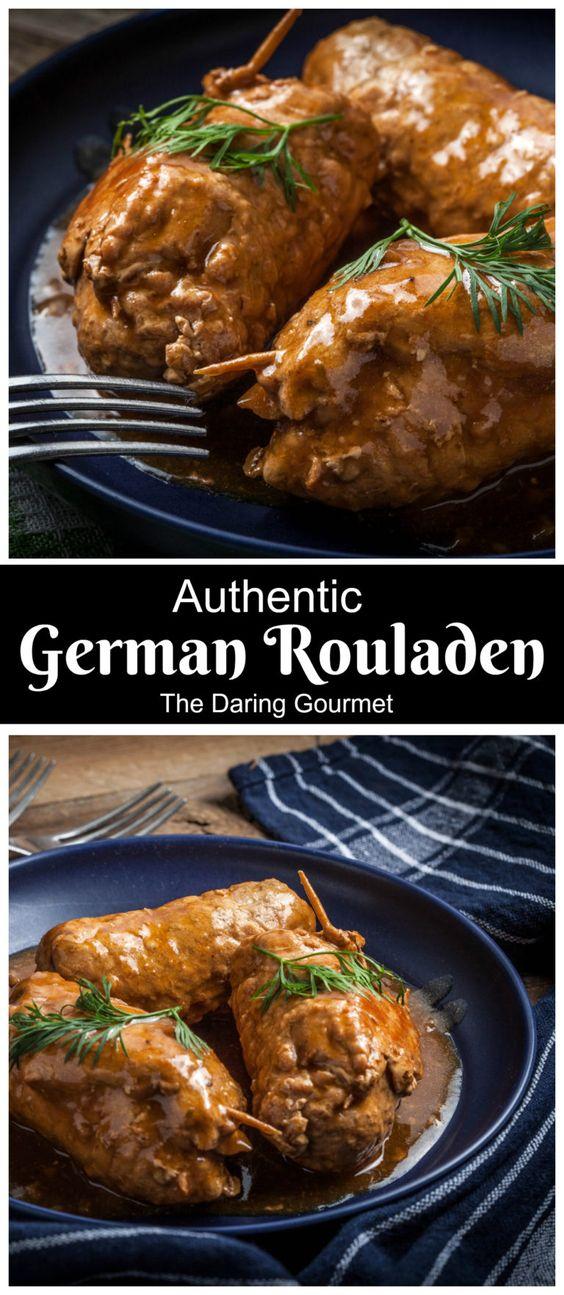 Authentic German Rouladen
