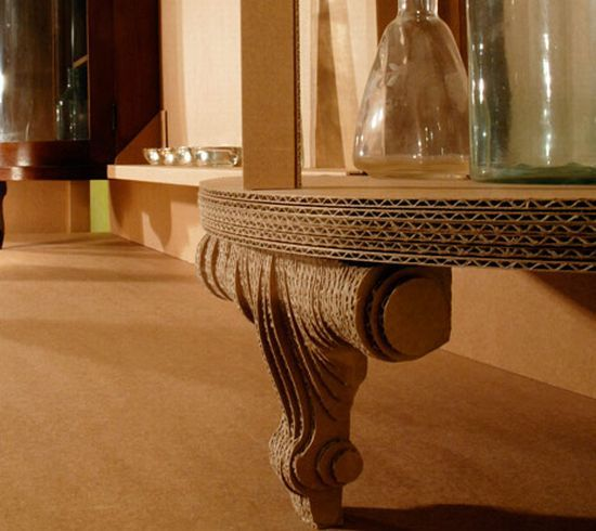 Don 39 T Throw It Away Make A Table Out Of It Creative Cardboard Made Furniture Items For Home