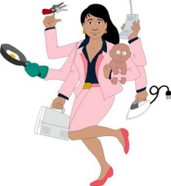 Image result for women working with many arms