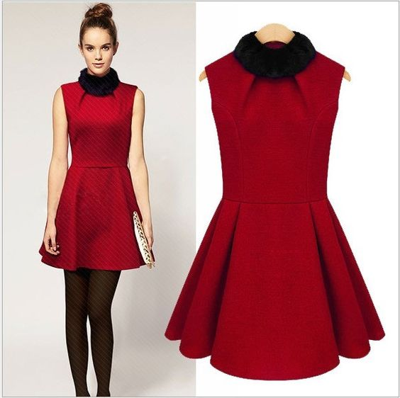 vintage replica red dress - Vintage Fashion - Pinterest - Dresses ...