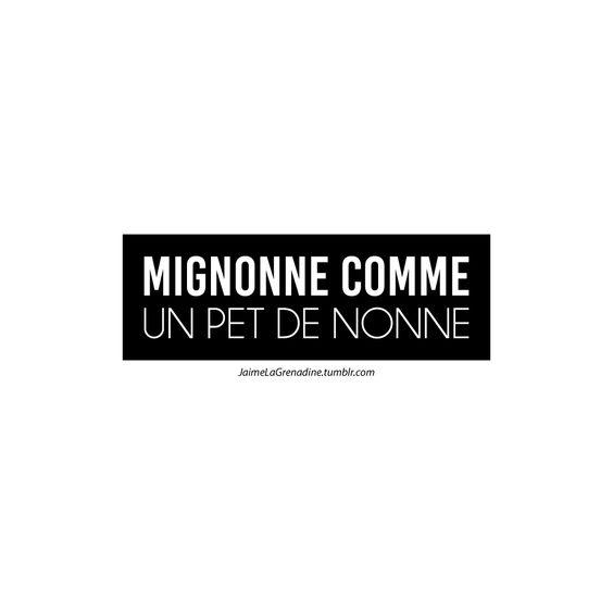 Mignonne comme un pet de nonne - #JaimeLaGrenadine >>> https://www.facebook.com/ilovegrenadine >>> https://instagram.com/jaimelagrenadine_off/