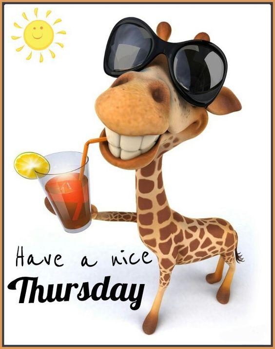 Thursday: