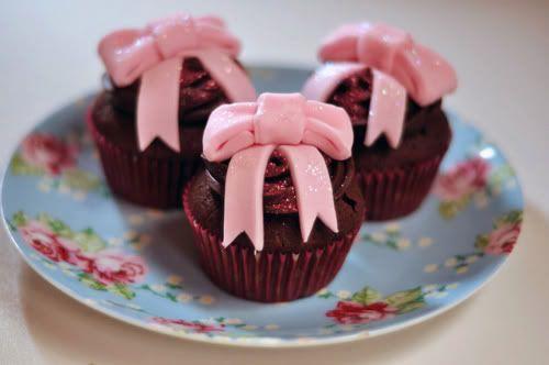 Ribbon Cupcakes | Blog | GirlyBubble