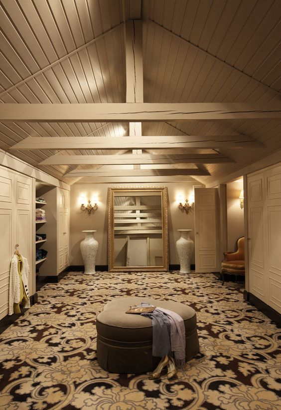 Attic turned into a useful closet instead of a dusty for How to make an attic into a bedroom