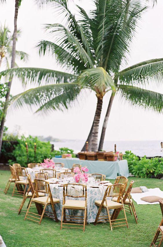 Rehearsal dinner inspiration, hawaiian rehearsal dinner, hawaiian wedding inspiration,