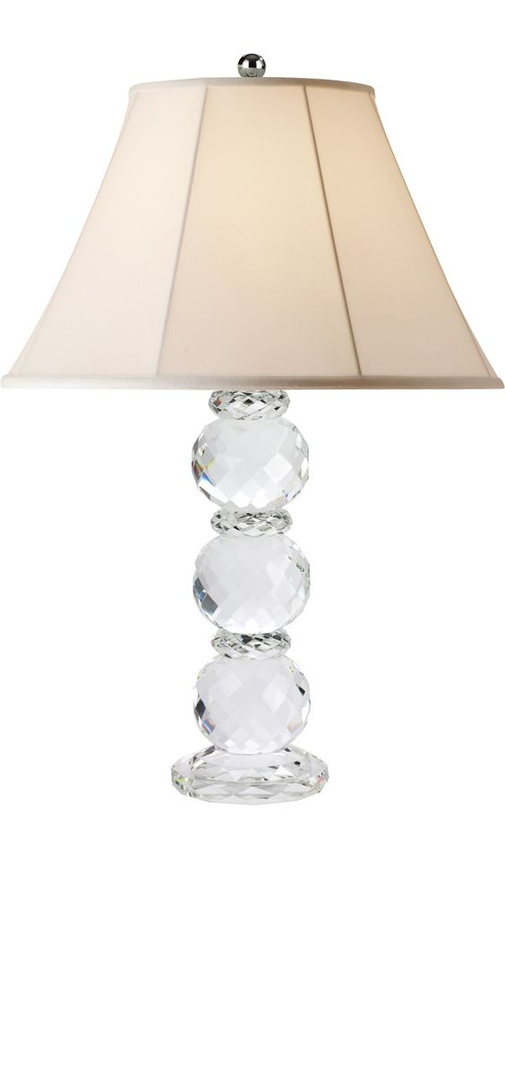 crystal table lamps ralph lauren classic 32 faceted crystal table lamp so elegant perfect. Black Bedroom Furniture Sets. Home Design Ideas