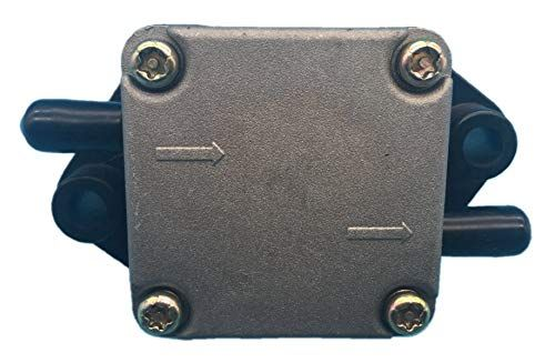 Tuzliufi Replace Fuel Pump Assy Suzuki Outboard Engine Df 4hp 5hp 6hp Yamaha 4hp 5hp 4 Stroke 2 Cylinders 15100 91j02 15100 91j01 15100 Outboard Suzuki Yamaha