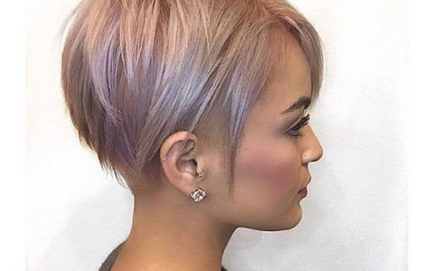 40+ Popular Cute Short Hairstyles Ideas for 2018 – 2019 | Thick ...