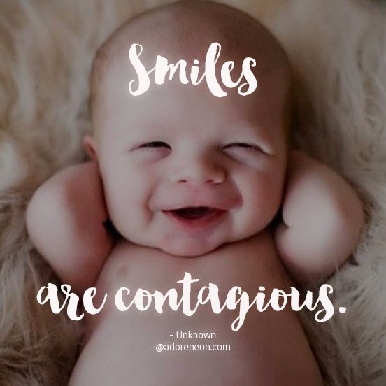 Smiles Are Contagious ...
