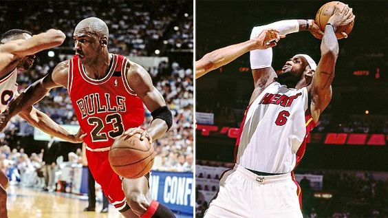 Visualizing the James vs. Jordandebate