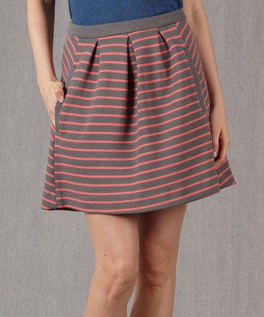 Look what I found on #zulily! Pewter Lexington Skirt - Women by Boden #zulilyfinds