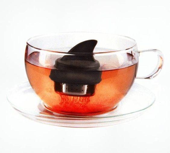 Sharky Tea Infuser, $14.99