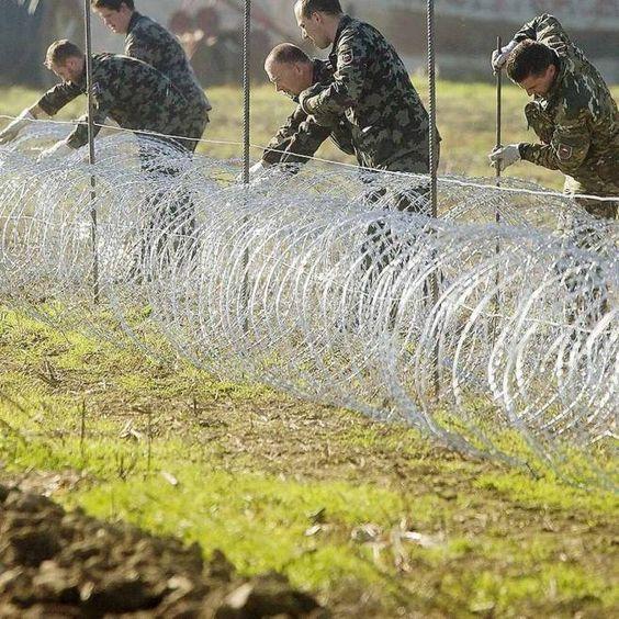 Mazedonien plant Zaun an Grenze zu Griechenland