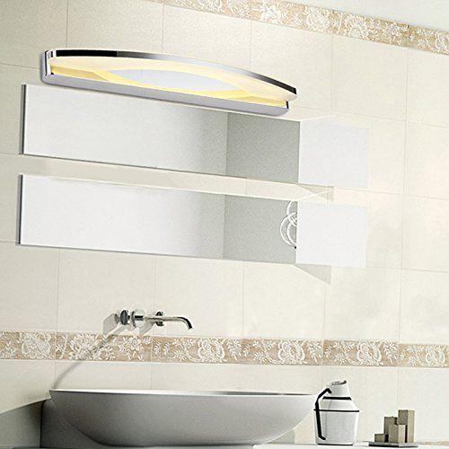 Yorbay®LED Badleuchte Badlampe Spiegelleuchte Badwandlampe BadwandleuchteWandleuchte 8W mit Trafo/Netzteil (Warmweiß 3500-4000K): Amazon.de: Beleuchtung