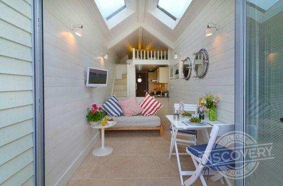 wow this is a beach hut in devon amazing