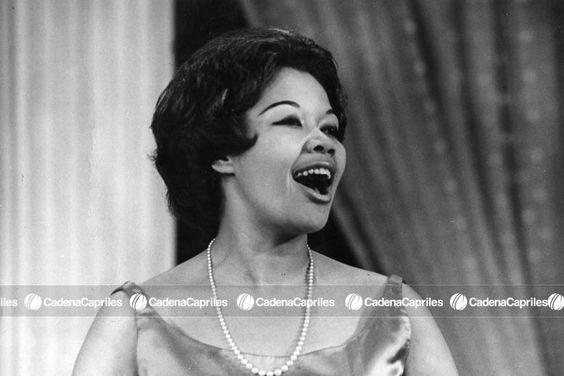 La intérprete de música popular y clásica Morella Muñoz. Foto: Archivo Fotográfico/Cadena Capriles