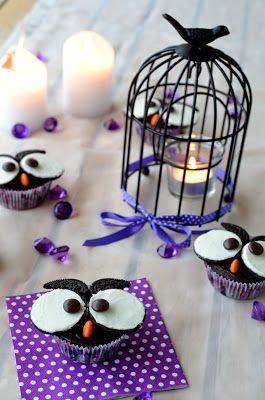 Eulen Cupcakes - lustig und lecker!