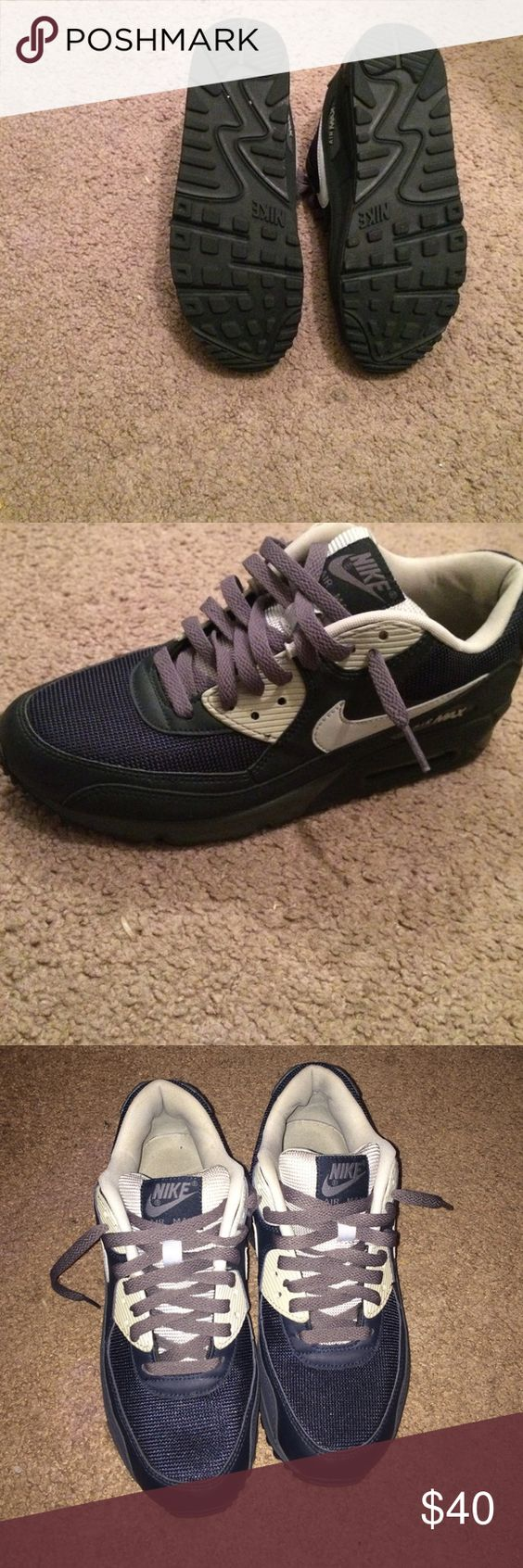 Nike air max Navy blue Nike Shoes Sneakers