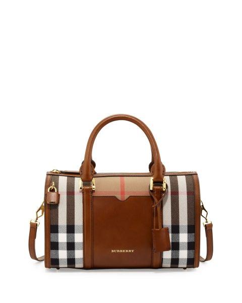 รวม 22 กระเป๋าสวยแบรนด์ดัง Burberry คลาสสิคลายตาราง
