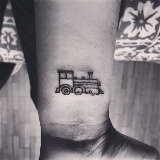 To remember the little engine that could. I think I can!!!(: how cute                                                                                                                                                      More