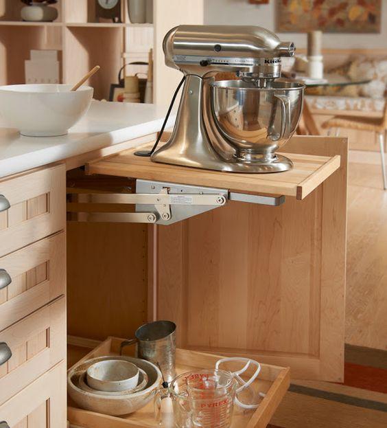 Mixer lift shelf (can buy Rev a Shelf Heavy Duty Mixer Lift to ...