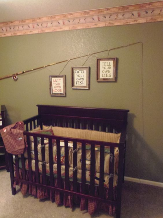 Our Nursery Fly Fishing Themed Of Course Stuff For