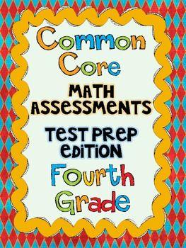4th test math grade placement pdf