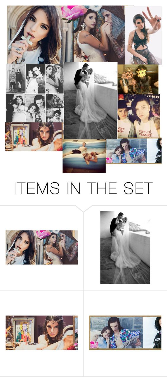 """""""Andy and Juliet"""" by shaya-bvb-4-life ❤ liked on Polyvore featuring art"""