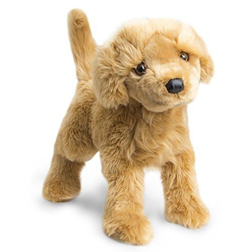 Fao Schwarz Adorable 23 Golden Retriever Plush Dog Toy For