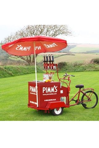 Great British Celebration; Wedding Theme Idea (BridesMagazine.co.uk) Have a Pimms bar, great idea