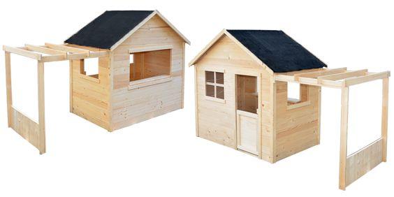 maisonnette en bois emma. Black Bedroom Furniture Sets. Home Design Ideas