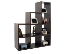 Mueble divisor de ambientes escalonado biblioteca - Estanteria escalonada ...