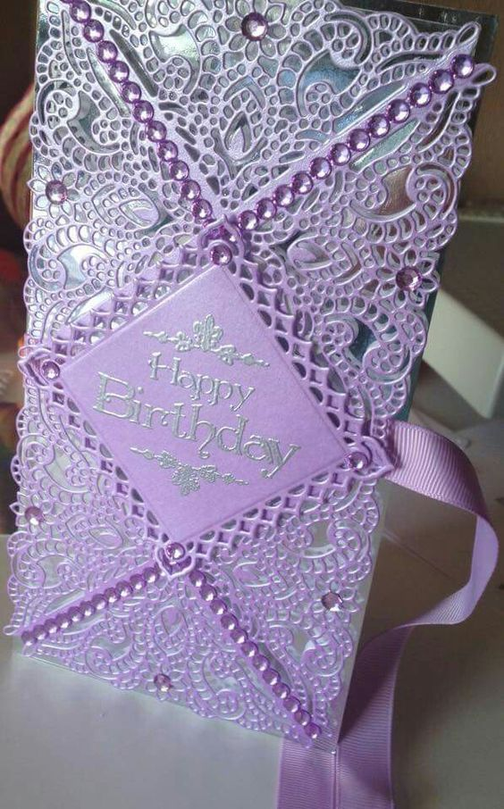 Tattered Lace Handmade Cards At Pinterest | just b.CAUSE