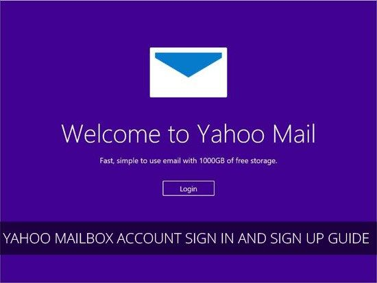 Yahoomail Com Yahoo Mailbox Account Sign In And Sign Up Guide Mikiguru Signup Account Sign In Accounting
