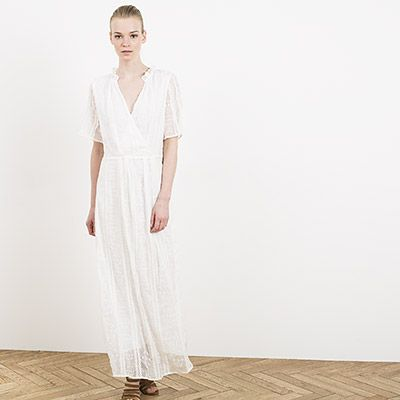Witte maxi jurk IKKS