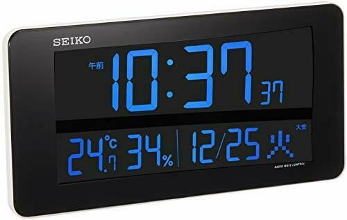Seiko Clock Wall Clock Table Clock Radio Wave Digital Interchange Type Dl208w Fashion Home Garden Homedcor Clocks Ebay Link Table Clock Clock Wall Clock