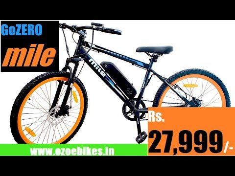 Go Zero Mile Ebicycle For Rs 27999 Low Cost Electric Bike In India Revie In 2020 Electric Bike Bike Electricity