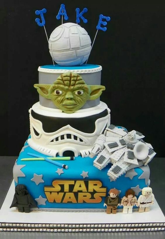 Star Wars Cake - Lego  - Birthday cake!: