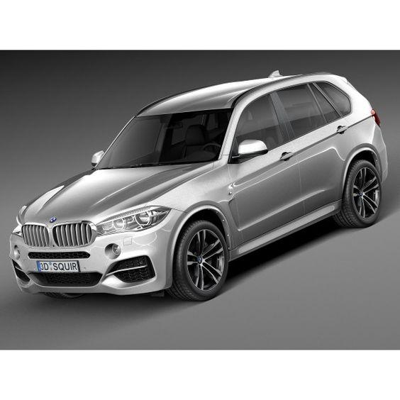 BMW X5 M-Package 2016 - 3D Model