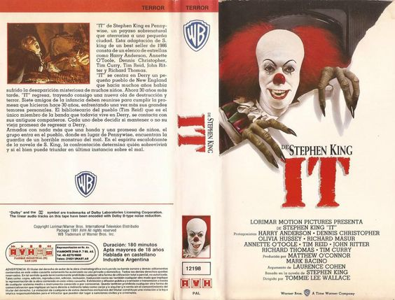 IT, zo'n enge clown.... Brrr... Goeie film!