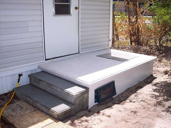 Pinterest the world s catalog of ideas for Porch storm shelter