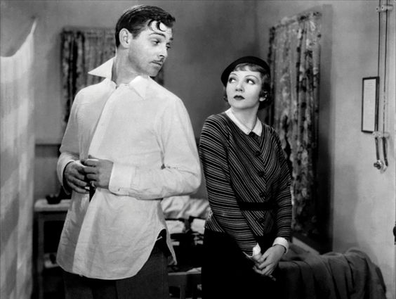 Clark Gable and Claudette Colbert - It Happened One Night, 1934
