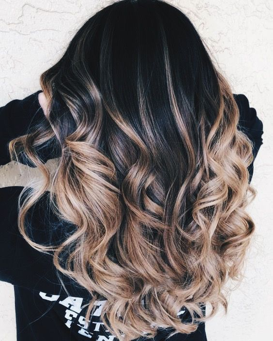 Most Up To Date Cost Free Ombre Hair Black Popular Hair Color For Black Hair Black Hair Ombre Black Hair Balayage