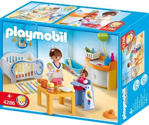 Playmobil Babyu0027s Room PLAYMOBIL®  Http://www.amazon.com/dp/B0014BN4TS/refu003dcm_sw_r_pi_dp_t1Qyvb1KKS2JK | For  Young Ones | Pinterest | Playmobil And Toy