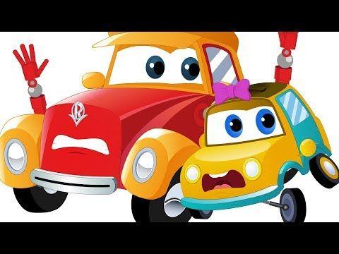 Slippery Slope Super Car Royce Cartoons For Kids Youtube