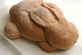 bunny bread! so cute