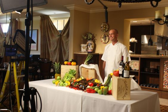 Here's a behind-the-scenes look at Toll Brothers Executive Chef Cris Carter during his lobster segment in Episode 1 of #TollLifestyleTV!