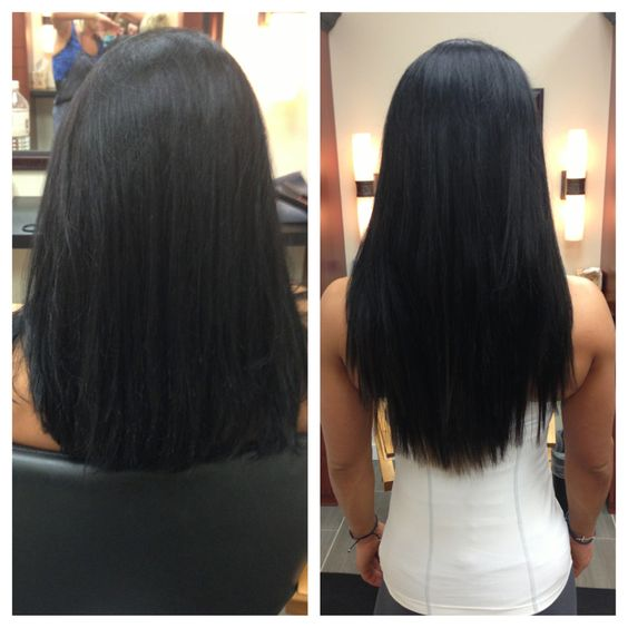 Babe hair extensions tape in choice image hair extension hair before and after a full head of babe i tip hair extensions niki before and after pmusecretfo Image collections