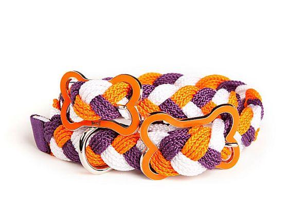 Sailor's Knot Collar, Plum/Orange on OneKingsLane.com