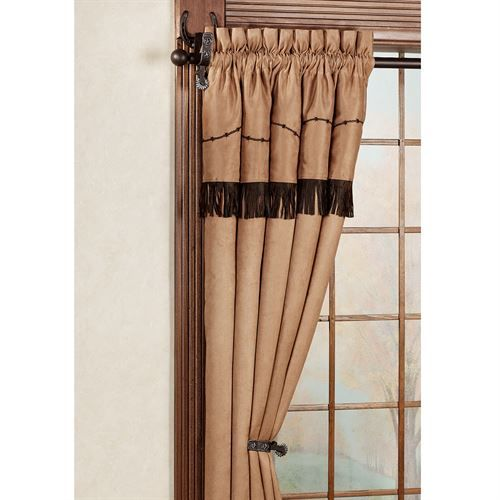 Spurs Western Decorative Curtain Rod Set 44 To 80 In 2020